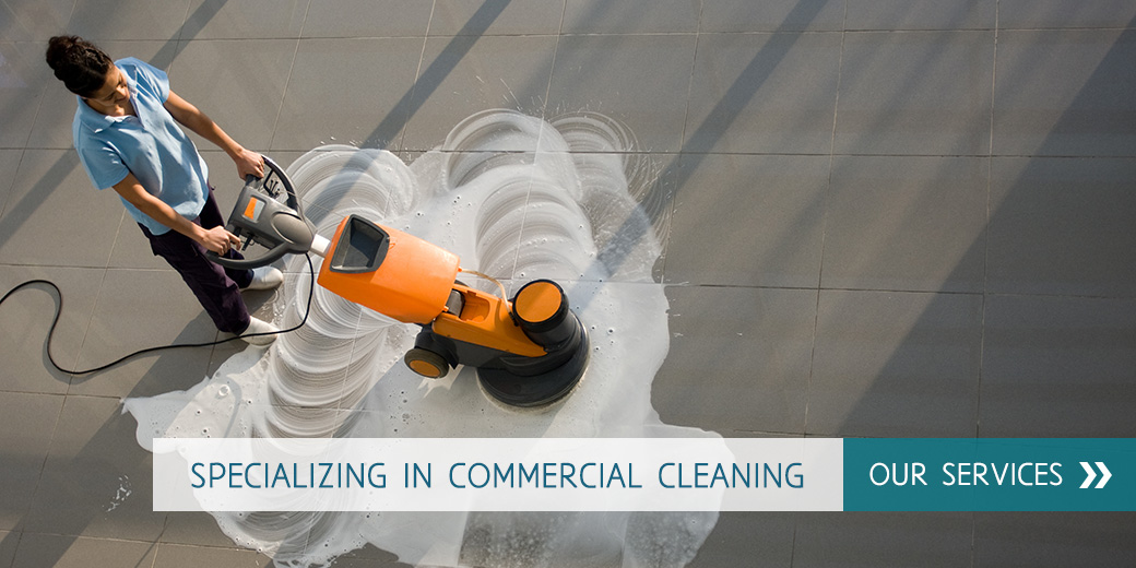 Specializing in commercial cleaning