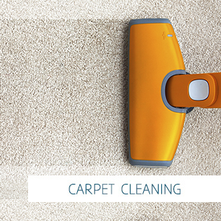 image of orange carpet cleaner