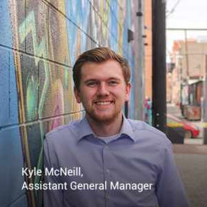 Kyle McNeill, Assistant General Manager